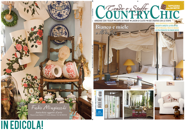Featured on tende e stoffe country chic sweet as a candy for Tende country chic