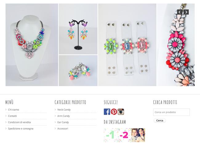087610b49de9 FM SHOP  E  online il nuovo shop! - Sweet as a Candy