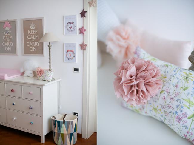 Ikea Hemnes Cassettiera Rossa.My Home La Cameretta Di Ginevra E Greta Sweet As A Candy