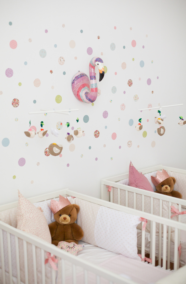My home la cameretta di ginevra e greta sweet as a candy - Ikea decorazioni adesive ...
