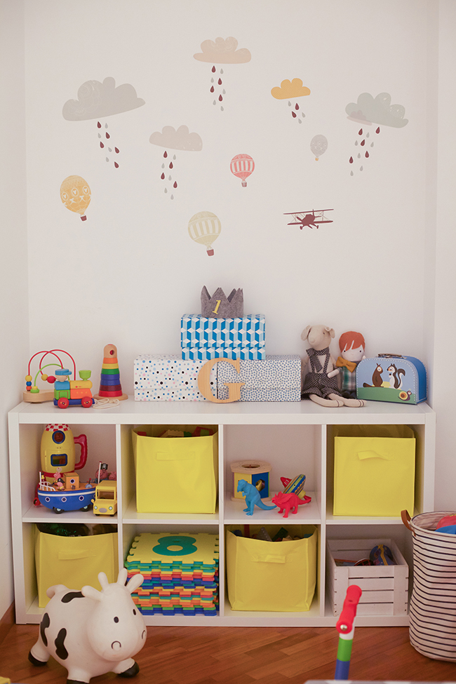 My home la cameretta di gianmarco sweet as a candy - Stickers bambini ikea ...