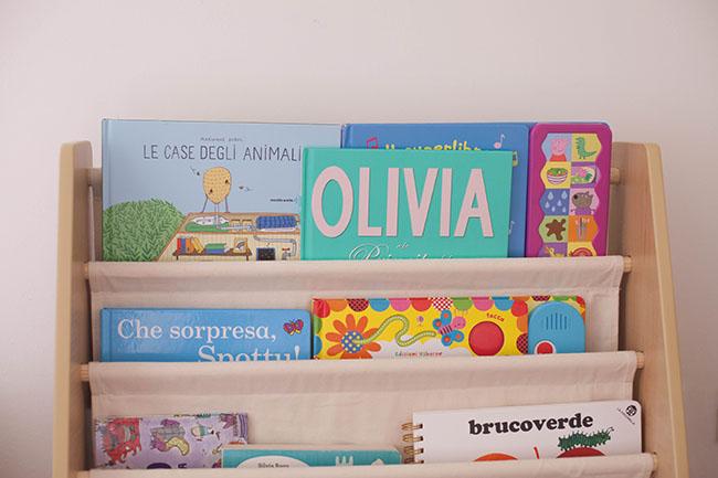 Scaffale Libri Per Bambini : Libreria per bambini rosso racer