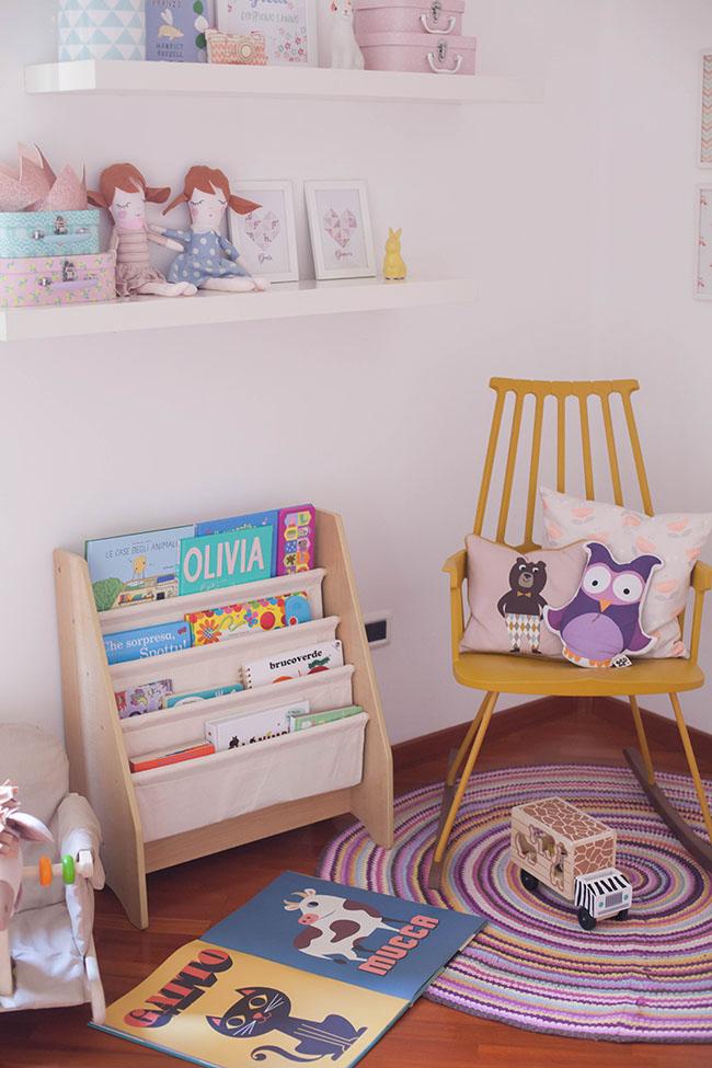 Mobile libreria per bambini per bambini oltre anno for Mobile per bambini