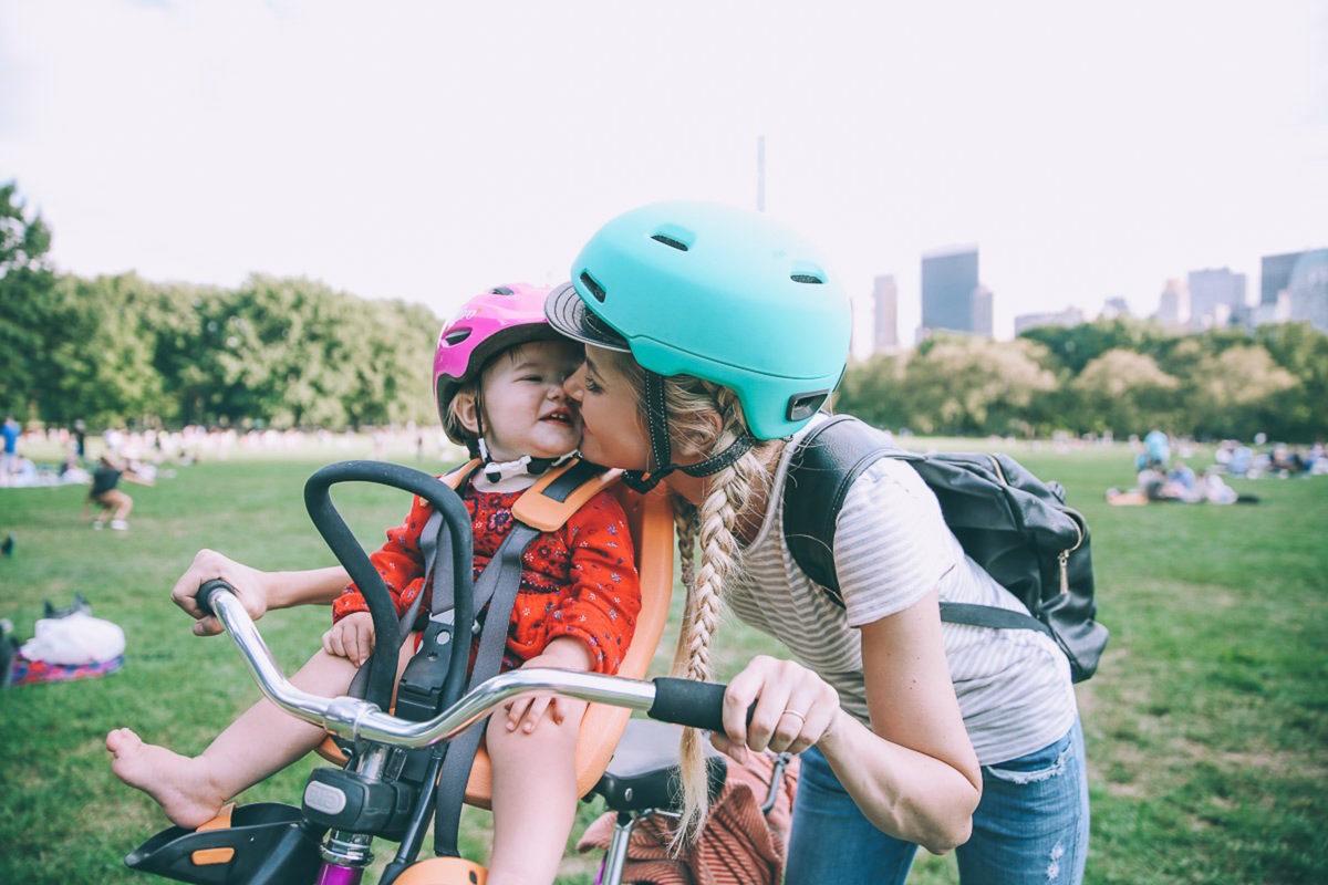 bici coi bambini