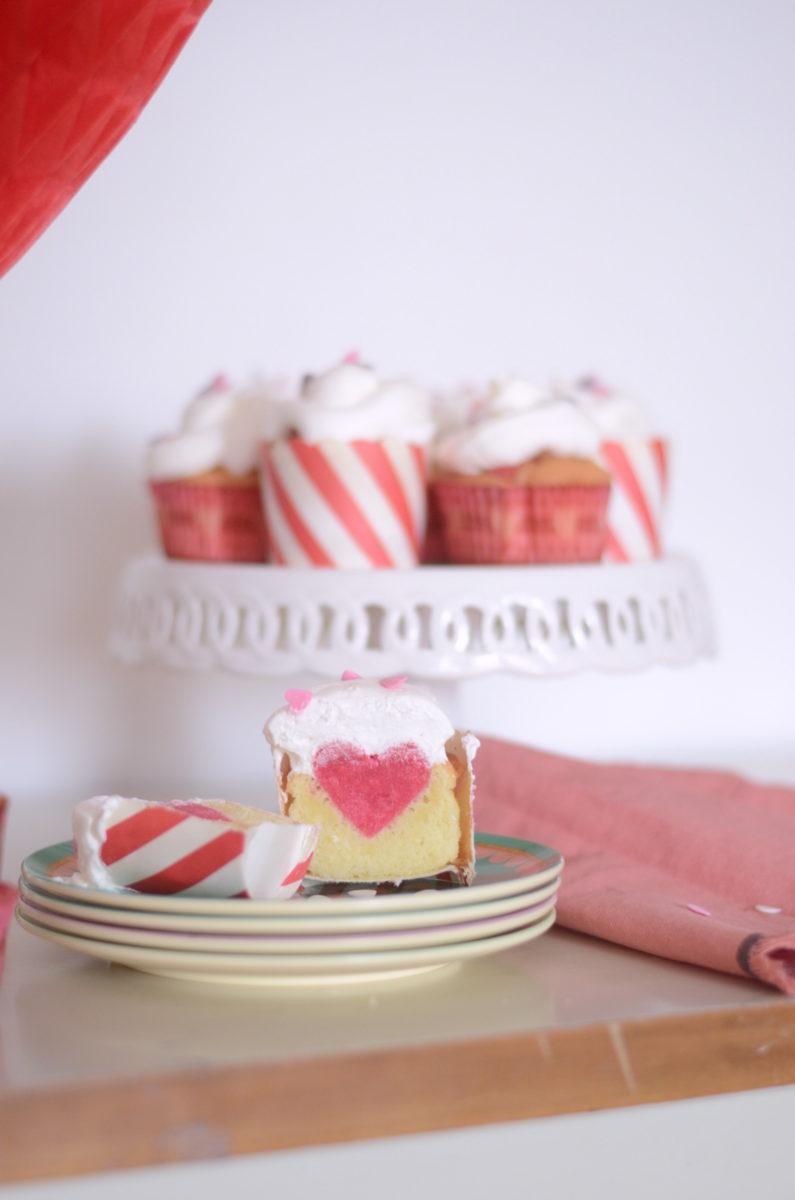 cupcakes col cuore