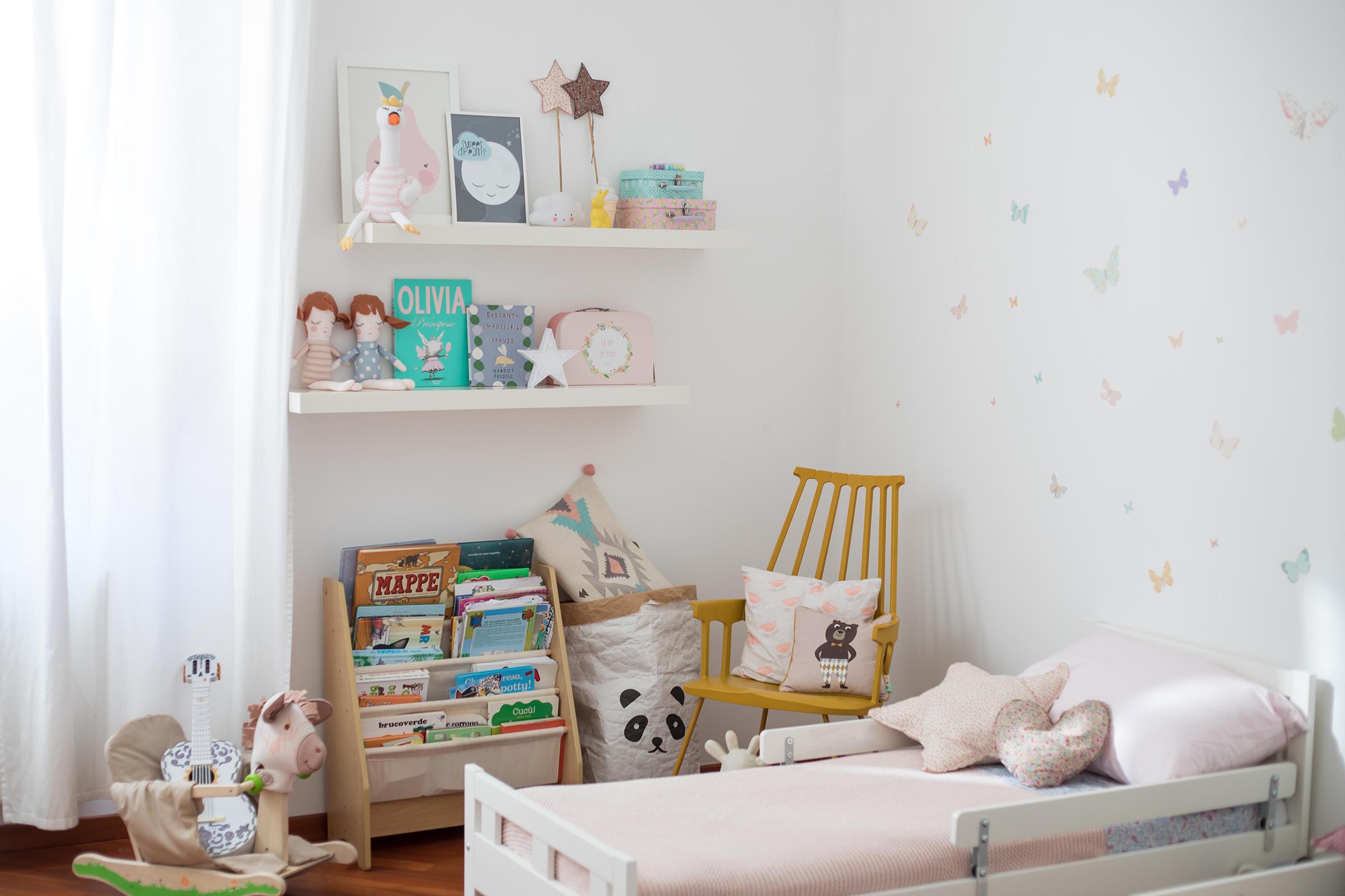 Camerette Tre Letti Ikea my home: la nuova cameretta di greta e ginevra - sweet as a