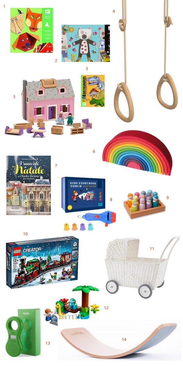 Gift guide di Natale per i bambini