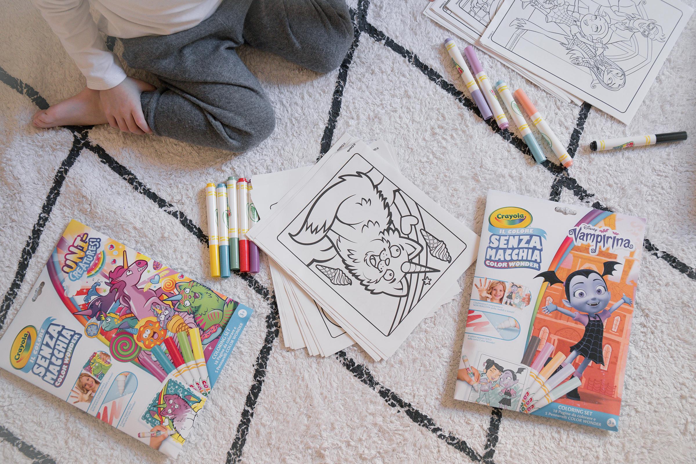 Macchie Di Pennarello Su Tessuto color wonder: i colori che non macchiano! - sweet as a candy