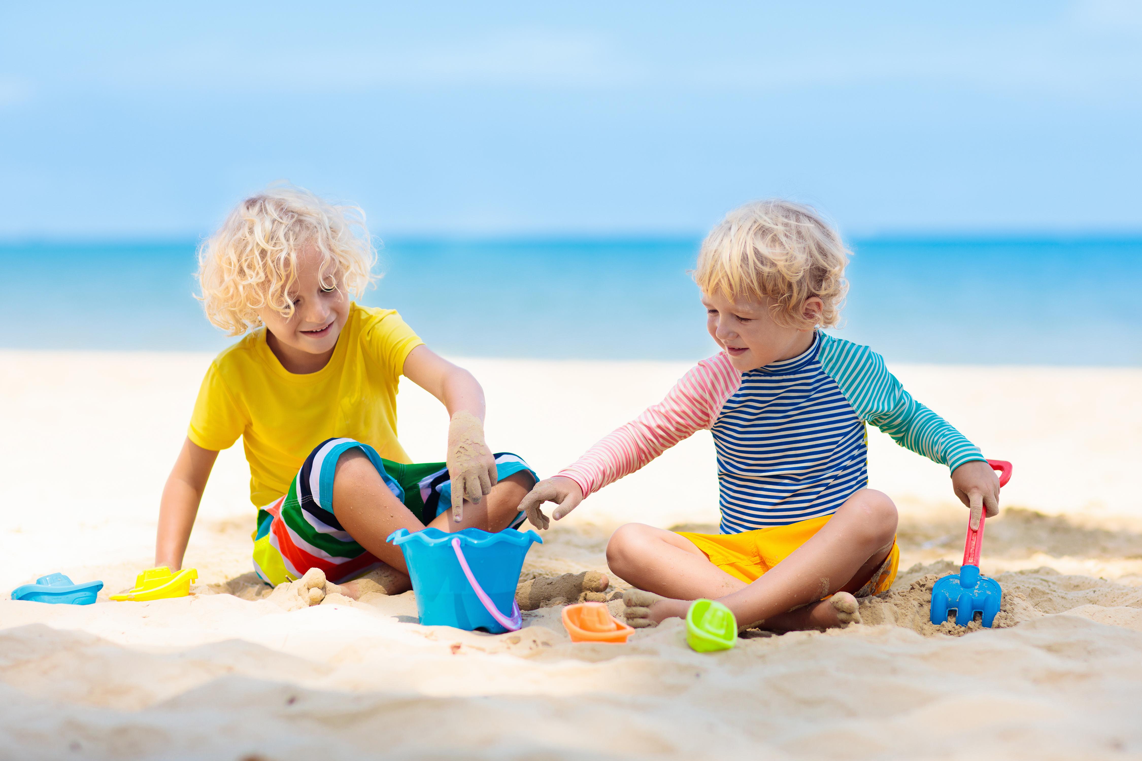 Foto Divertenti Bambini Al Mare giochi da spiaggia} attività per non annoiarsi mai al mare